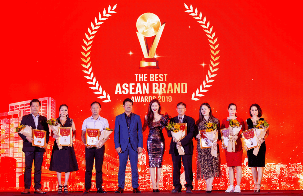 Vinh danh The Best Asean Brand Awards 2019