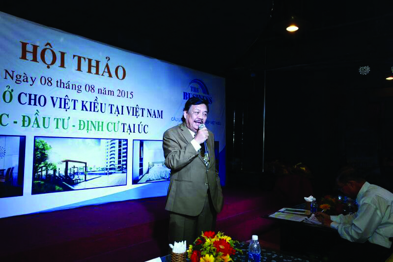 Ông LOUIS  LƯU THẾ NGỌC - Phó Chủ nhiệm Hội Doanh Nghiệp Việt