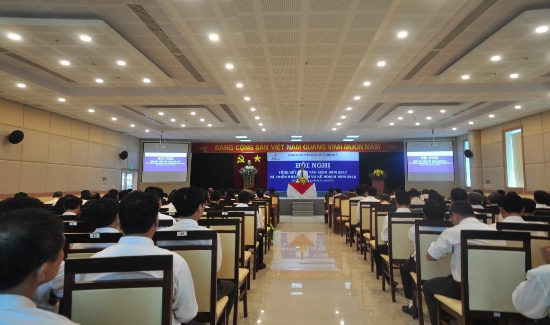 Toàn cảnh Hội Nghị Tổng kết 2017 Điện lực Khánh Hòa