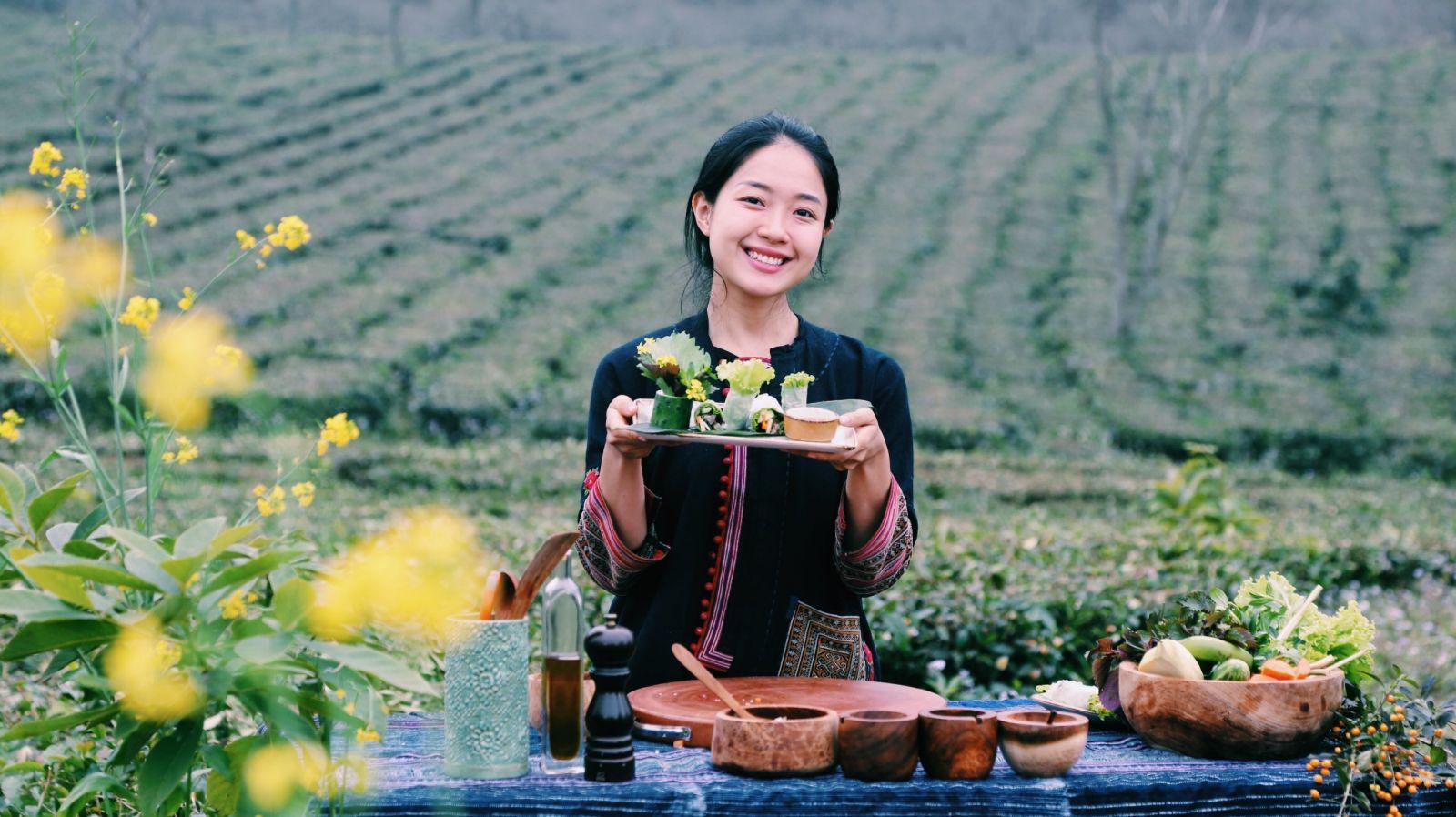 Nữ du học sinh Nguyễn Khánh Vương Anh đang theo học nghề bếp tại  Trường Le Cordon Bleu, Sydney (Úc).
