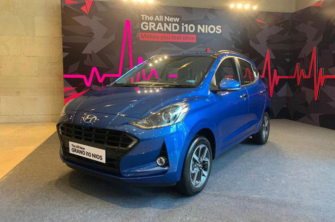 Ngày 20/8, hãng xe ôtô Hàn Quốc - Hyundai đã chính thức giới thiệu tới thị trường Ấn Độ thế hệ thứ 3 của dòng xe Grand i10 mang tên Hyundai Grand i10 Nios 2020.
