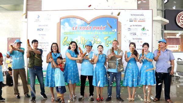 Lễ xuất phát Caravan Quảng Ngãi ân tình 2017 tại thành phố Đà Nẵng