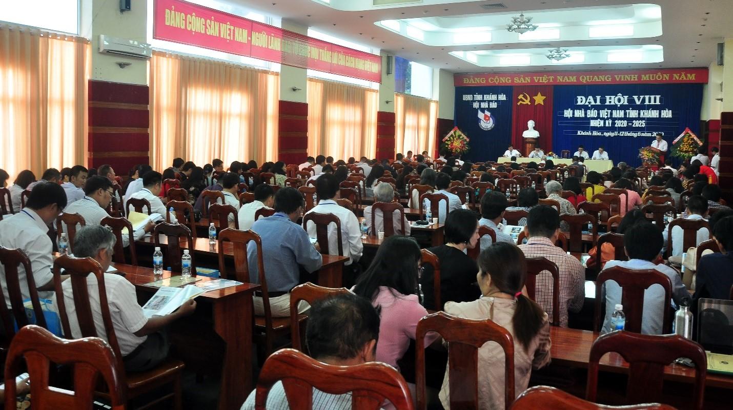 Toàn cảnh Đại Hội VIII Hội Nhà Báo tỉnh Khánh Hòa, nhiệm kỳ 2020 - 2025