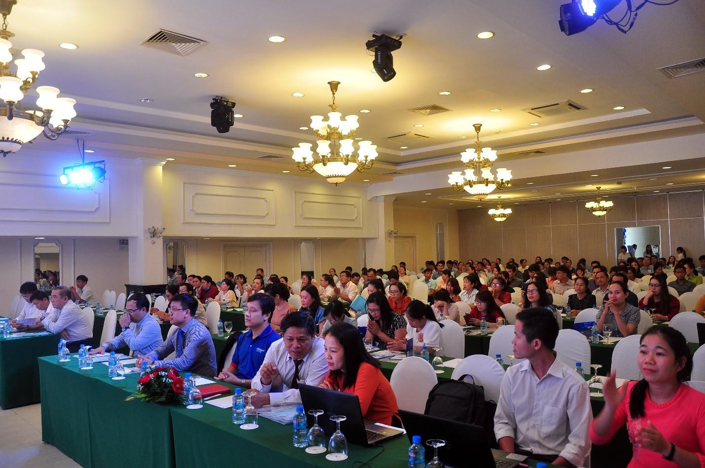 Toàn cảnh Hội nghị tập huấn tác nghiệp thanh toán trực tuyến trên Trung tâm Dịch Vụ Hành Chính Công trực tuyến Tỉnh Khánh Hòa