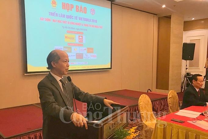 Trưởng Ban Tổ chức Triển lãm Vietbuild, ông Nguyễn Trần Nam, thông tin về Triển lãm Vietbuild 2019