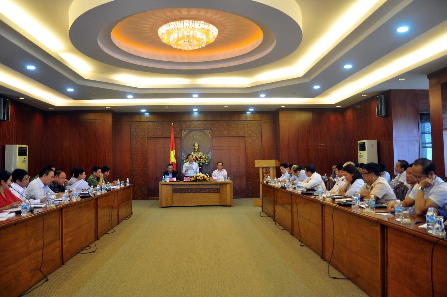 Toàn cảnh cuộc họp triển khai phương án phòng chống dịch viêm phổi cấp do chủng mới của virus Corona gây ra