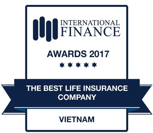 """Prudential - """"Công ty Bảo hiểm Nhân thọ tốt nhất Việt Nam năm 2017 – The Best Life Insurance Company in 2017"""""""