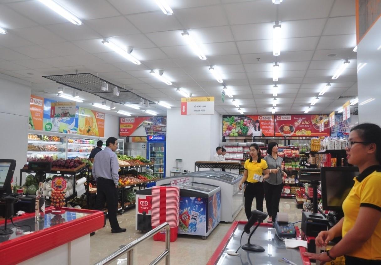 Siêu thị Q Mart hơn 3.000 sản phẩm phục vụ