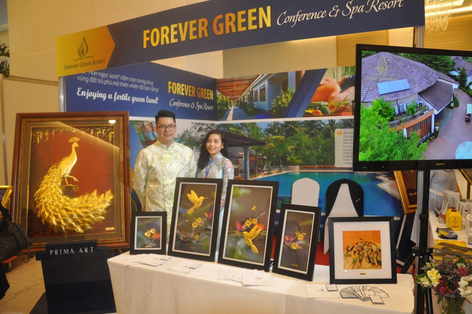 Gian hàng của Forever Green resort tại Triển lãm VIFR 2019