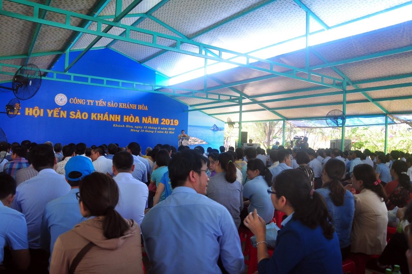 Toàn cảnh Lễ Hội Yến Sào Khánh Hòa