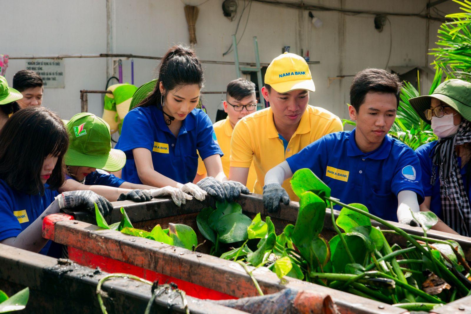 Đại sứ vì môi trường của Nam A Bank – Á hậu Hoàng Thùy cùng các hoạt động ý nghĩa hướng đến bảo vệ môi trường.