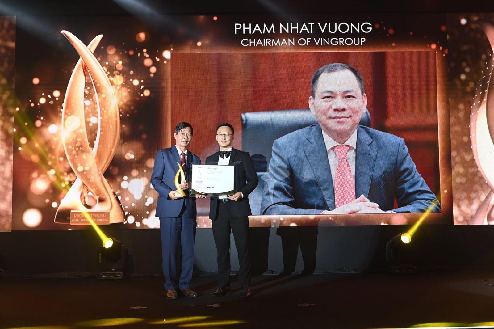 Doanh nhân Phạm Nhật Vượng - Nhân vật có đóng góp tiêu biểu chosự phát triển của BĐS tại Việt Nam