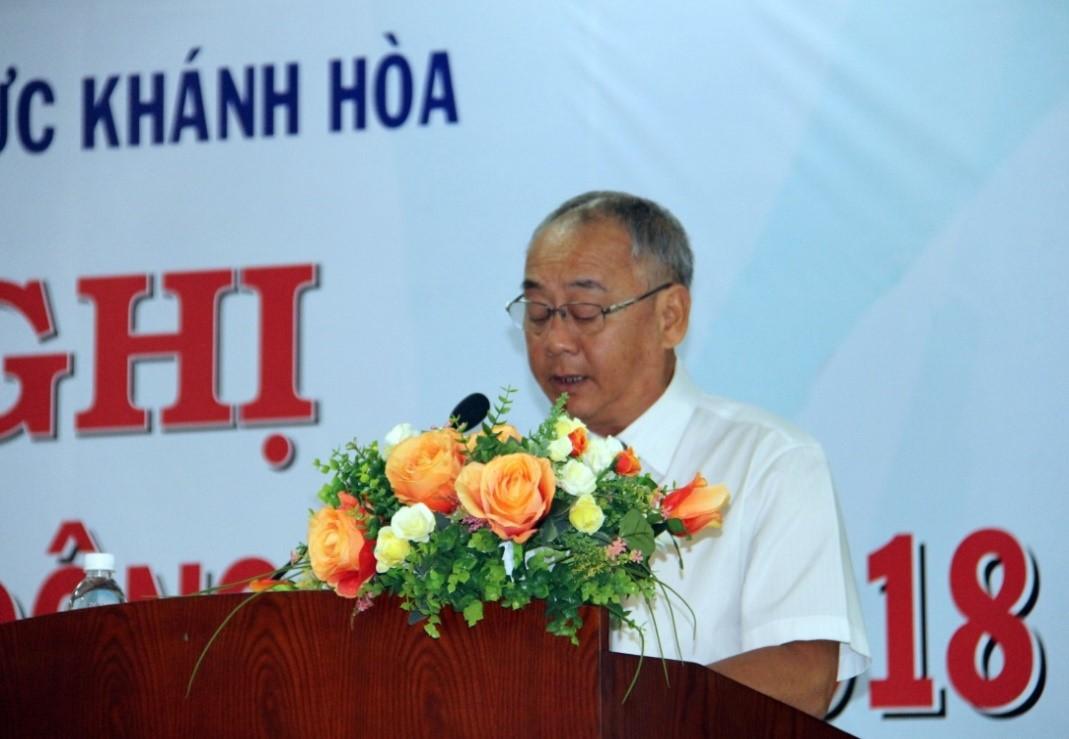 Ông Nguyễn Tuấn Phó Chủ tịch Công Đoàn Công Ty, đại diện Người lao động kiến nghị tại Hội nghị