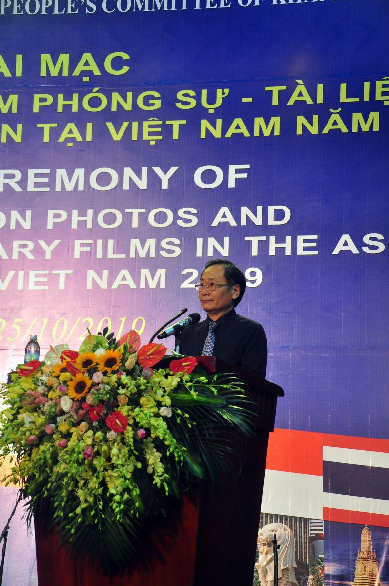 Ông Nguyễn Đắc Tài P. Chủ tịch UBND tỉnh Khánh Hòa phát biểu chào mừng