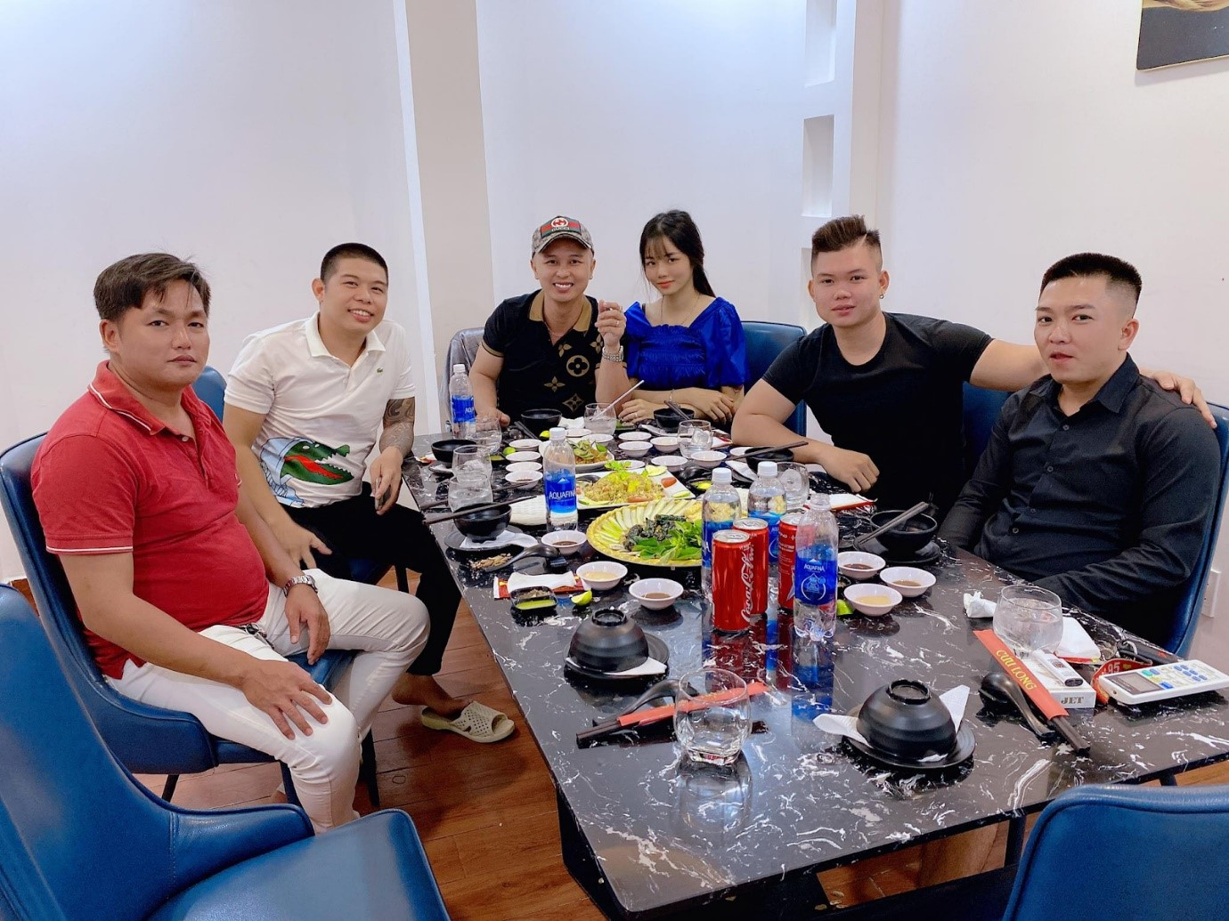 CEO Đỗ Thành Phú cùng vợ gặp gỡ CTV khi dịch chưa bùng phát