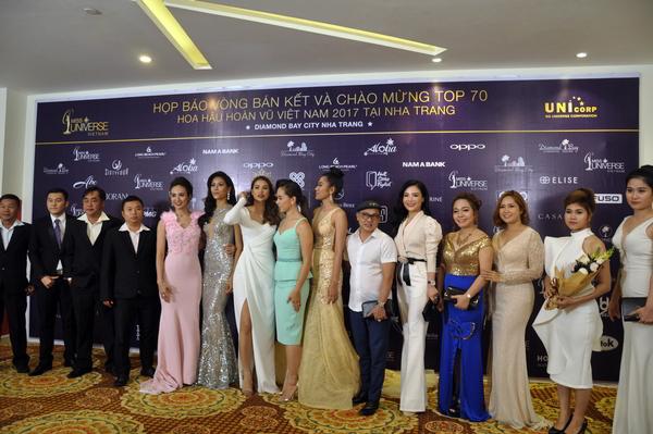 Các nhà tài trợ cho cuộc thi nhan sắc Hoa Hậu Hoàn Vũ Việt Nam 2017 và các Hoa Hậu