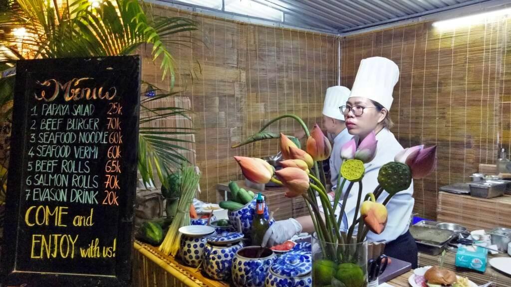 Gian hàng của khu nghĩ mát Evason Anna Mandra, Nha Trang