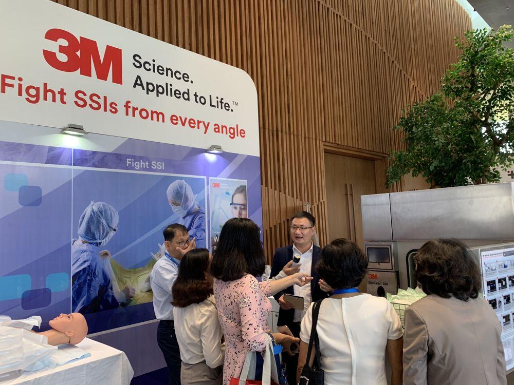 Ngành hàng Chăm sóc sức khỏe của 3M đã nghiên cứu phát triển và cho ra đời các sản phẩm và giải pháp kiểm soát nhiễm khuẩn được đánh giá cao trên toàn cầu.