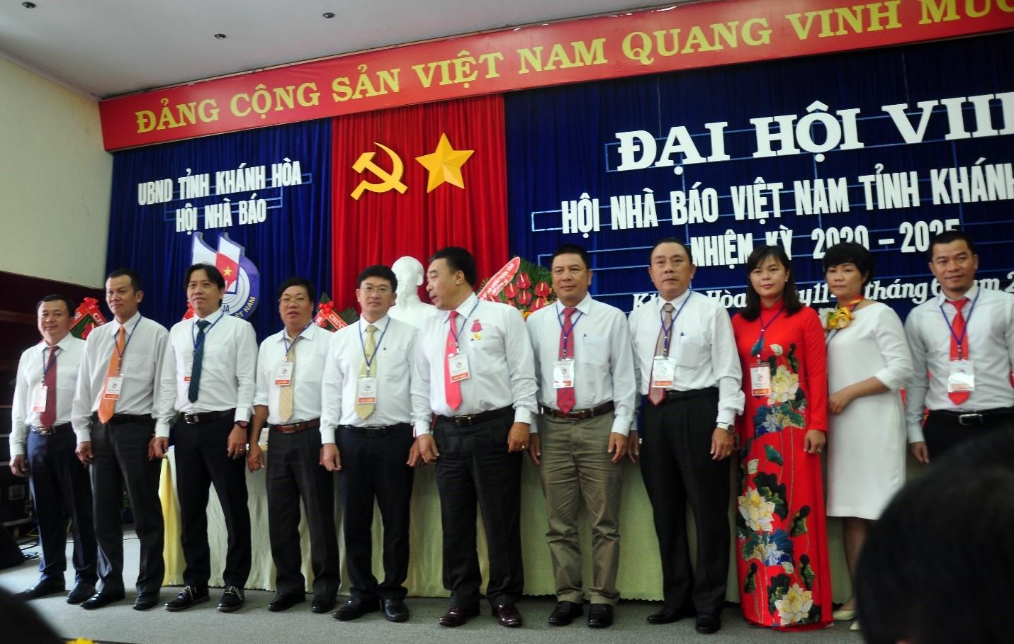 BCH Hội Nhà Báo Khánh Hòa nhiệm kỳ 2020-2025