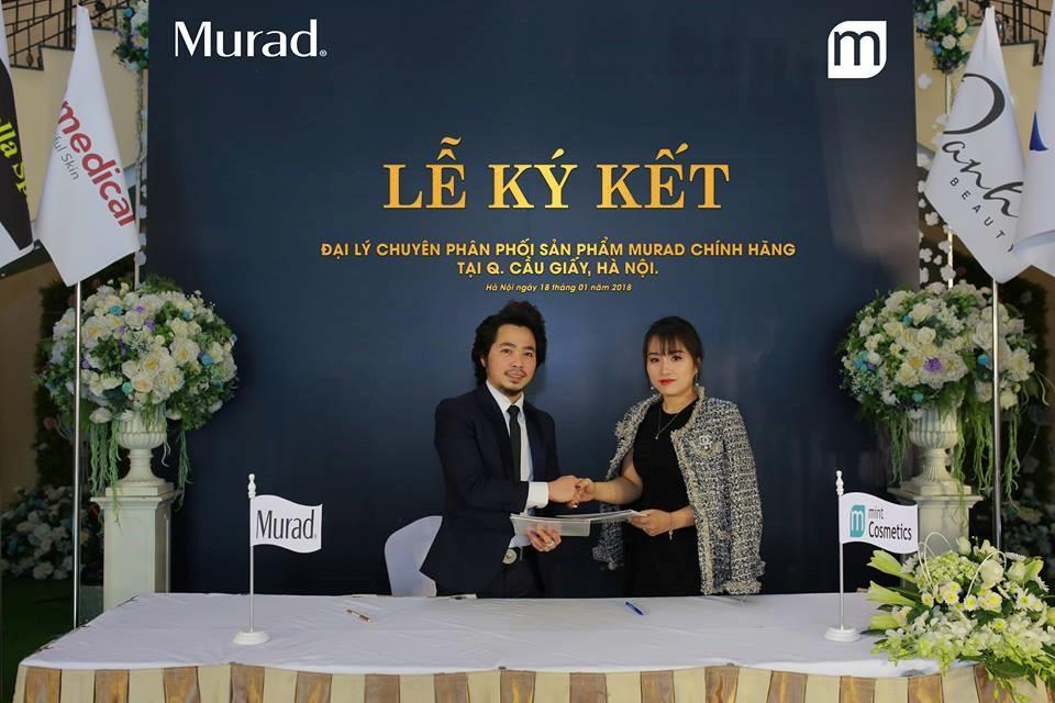 Lễ ký kết hợp tác giữa Murad Việt Nam và Mint Cosmetics