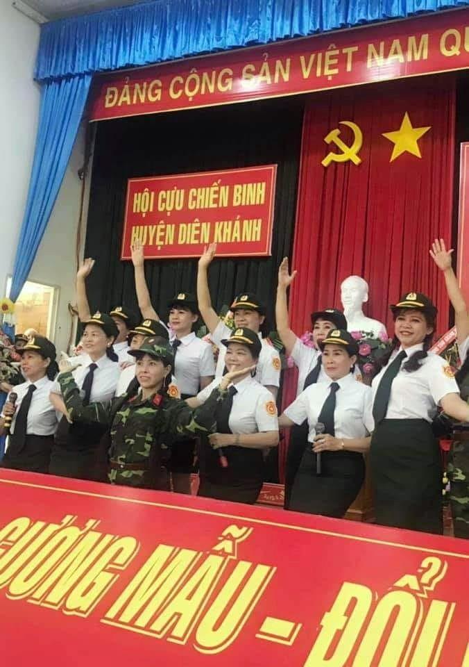 Chương trình phục vụ Hội CCB huyện Diên Khánh