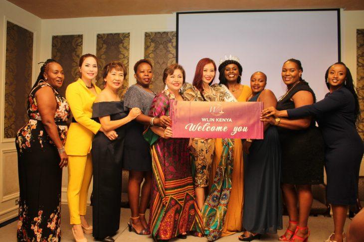 Cùng các thành viên WLIN tại Kenya