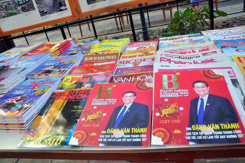 Tạp chí Doanh Nghiệp & Thương Hiệu Việt Nam tham gia triển Lãm Hội Báo Xuân Tân Sửu 2021