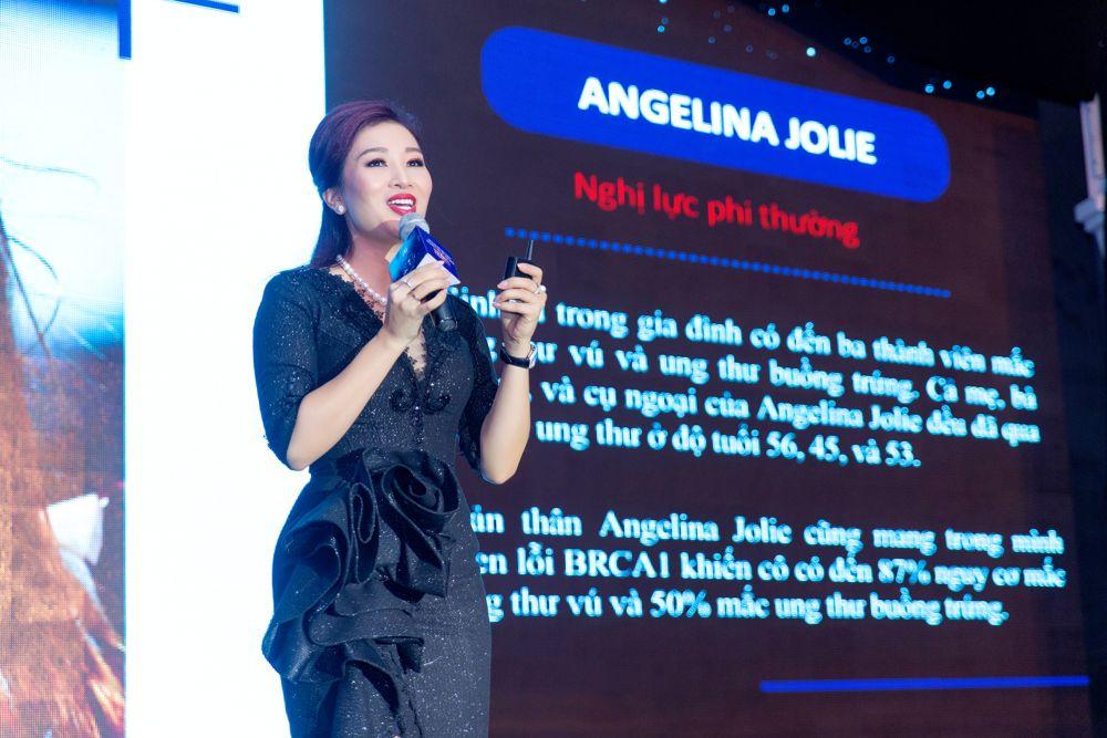 Á hậu Quý bà Thế giới Nguyễn Thu Hương, đại sứ toàn cầu của chương trình