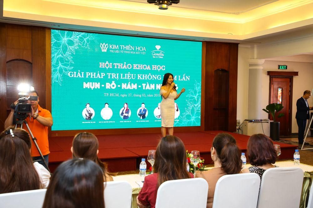 Bà Trần Trà My - Giám đốc Kinh doanh Thiên Kim Hoa Group