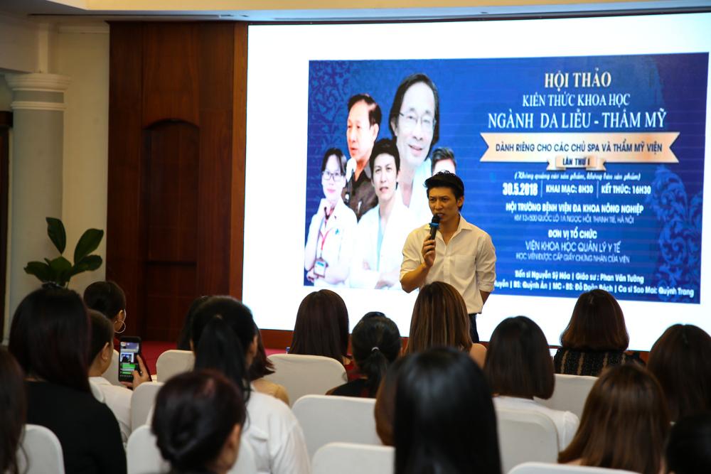Bác sĩ Nguyễn Quỳnh Ân - Chuyên gia cấp cao Viện nghiên cứu ứng dụng thẩm mỹ Việt Nam