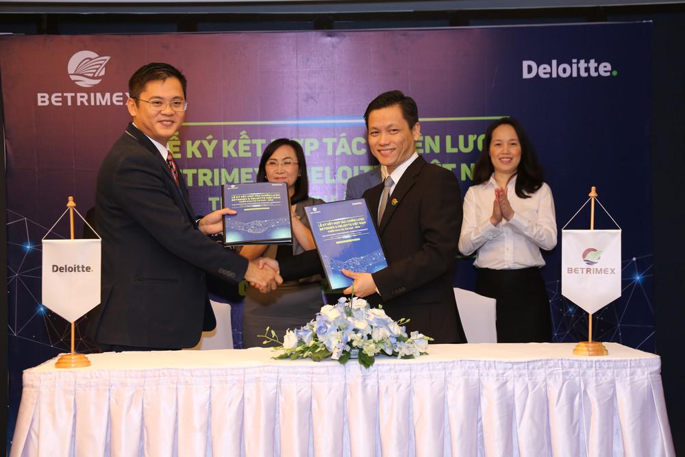 Ban lãnh đạo Betrimex và Deloitte ký kết hợp tác chiến triển khai Dự án SAP – IFRS
