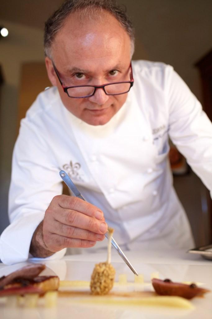Chef Gaetano Trovato (Hai sao Michelin)