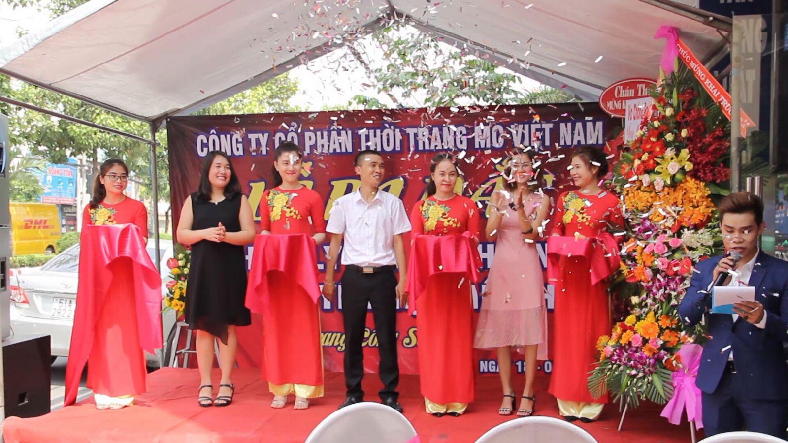Lễ cắt băng khai trương đại lý MC Biên Hòa