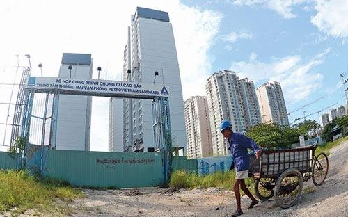 Một dự án có vốn của Tập đoàn Dầu khí Việt Nam. Hiện doanh nghiệp này cũng đang khẩn trương thoái vốn đầu tư ngoài ngành.