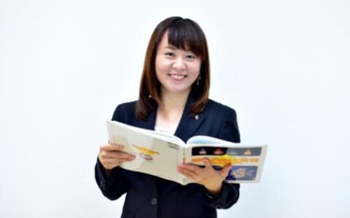 Lao Xuân Mai, một trong 6 nhà quản lý người Việt tại Rensei Education Center.