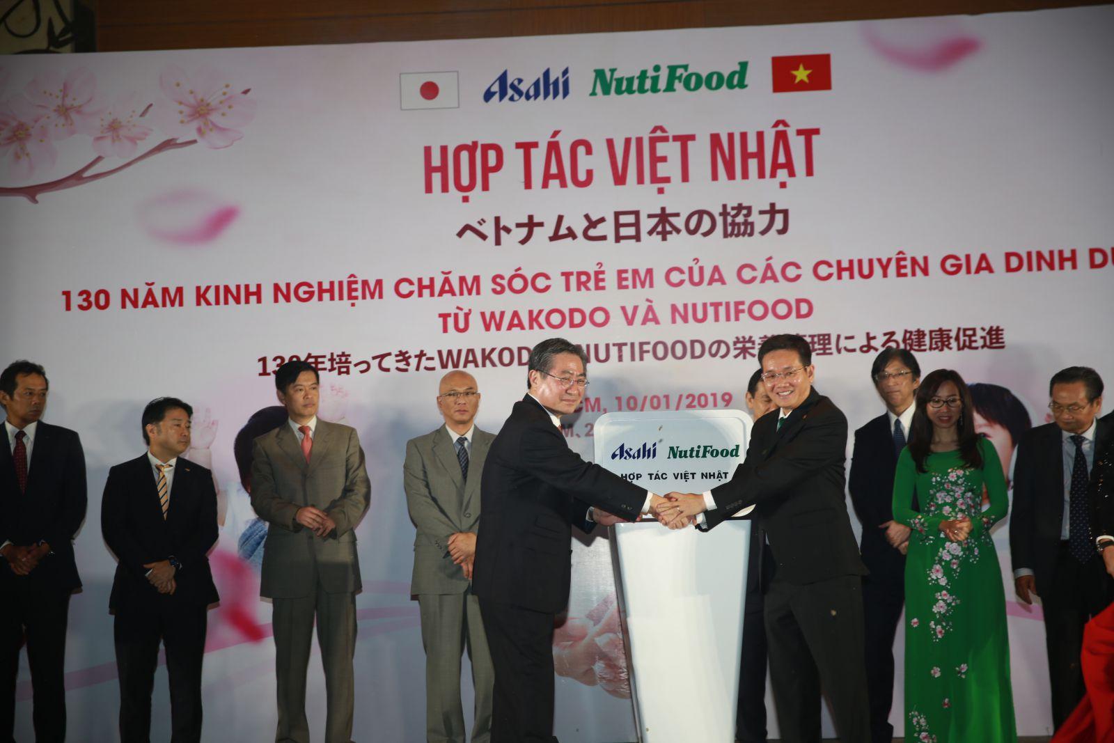 Asahi- NutiFood với hơn 130 năm kinh nghiệm là chìa khóa để xây dựng một thể hệ tương lai tốt đẹp cho trẻ em Việt Nam.