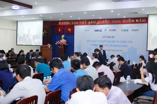 Lễ công bố Quỹ Đầu tư khởi nghiệp và sáng tạo TP. Hồ Chí Minh đã được diễn ra