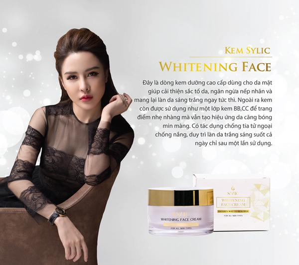Whitening Face Cream của SYLIC đang gây sốt thị trường làm đẹp