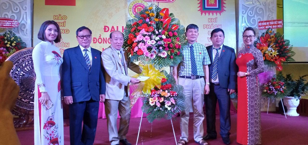 Các thành viên chủ chốt của Ban thường vụ Hội Doanh nghiệp Doanh nhân họ Trần tỉnh Bình Dương