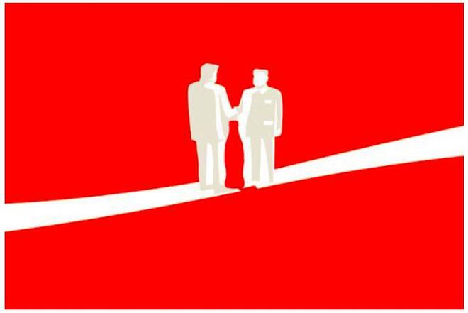 Hình ảnh nằm trong chiến dịch quảng cáo gây tiếng vang của Coca-Cola.