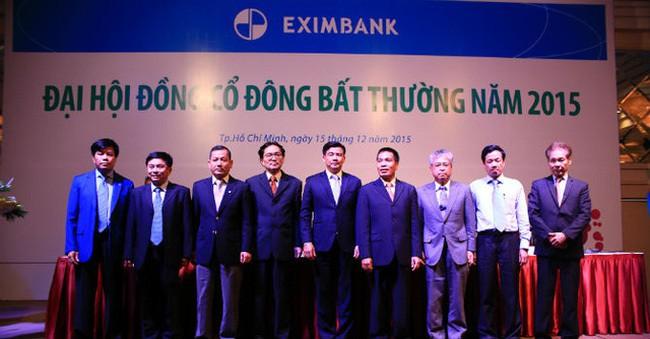 Đại hội đồng cổ đông bất thường vào cuối năm 2015 đã bầu chọn ông Lê Minh Quốc vào vị trí Chủ tịch Eximbank.