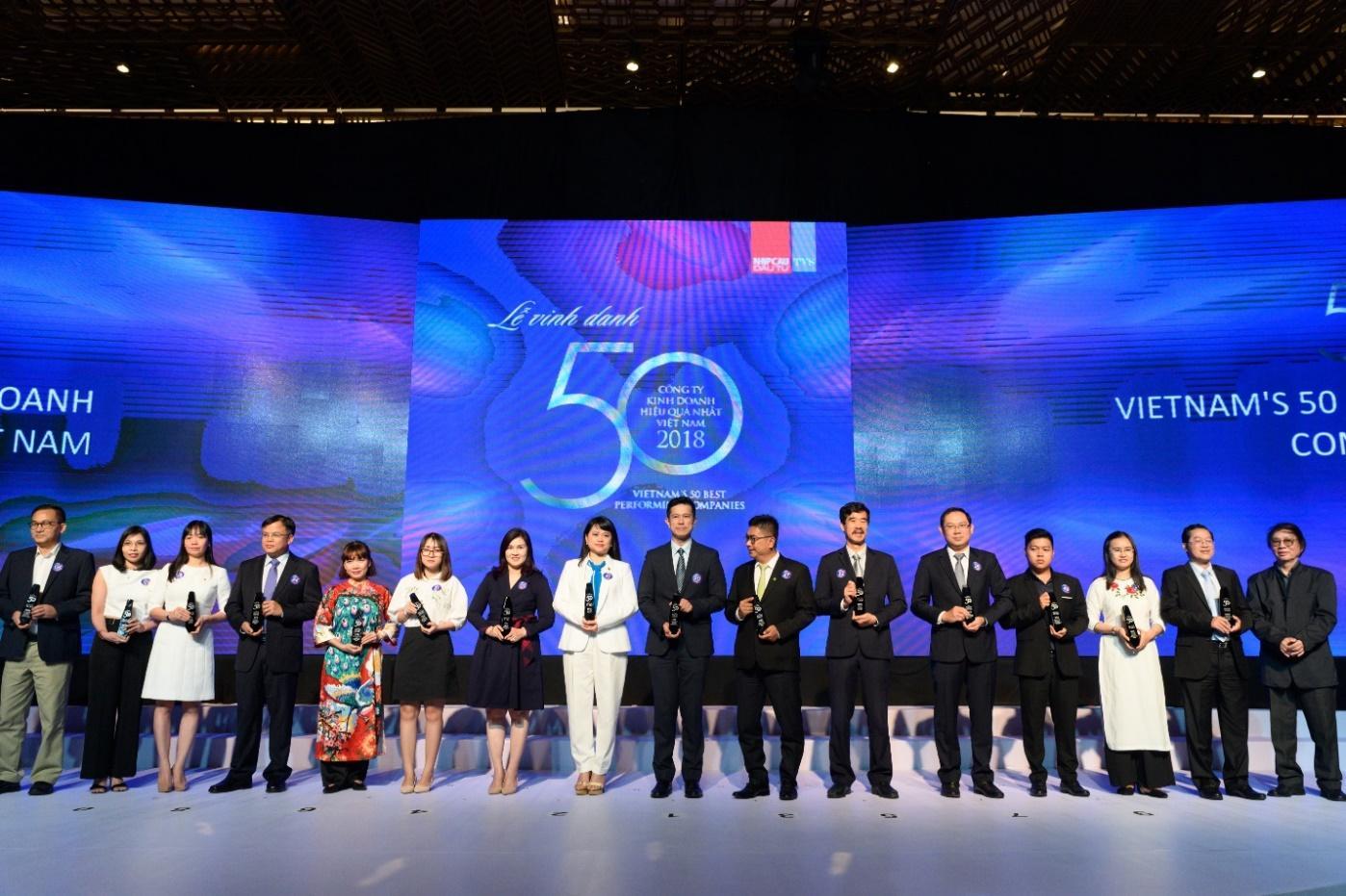 SABECO được vinh danh trong Top 50 Công ty Kinh Doanh Hiệu Quả Nhất Việt Nam