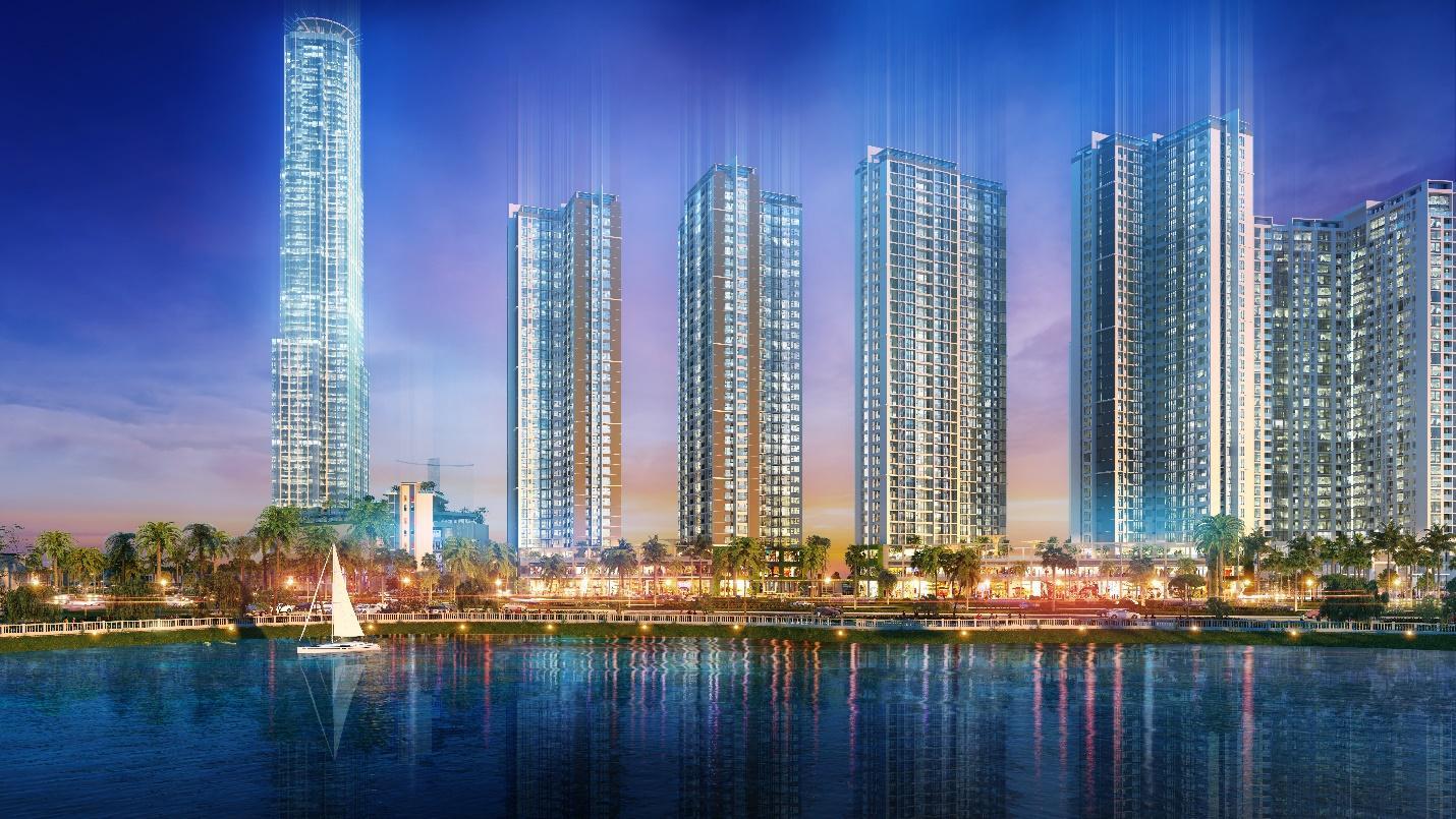 Dự án Eco Green Saigon tọa lạc ngay mặt tiền đại lộ Nguyễn Văn Linh với quy mô rộng tới 14,36ha