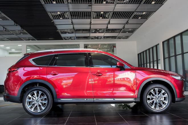 Mazda CX-8 sản xuất tại Việt Nam vừa ra mắt cuối tháng 6 vừa qua.