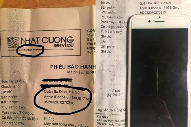 """Màn """"hô biến"""" ruột máy điện thoại của khách hàng"""