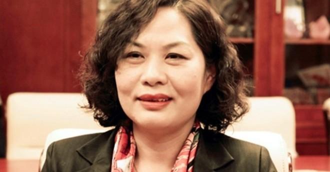 Bà Nguyễn Thị Hồng, Phó Thống đốc NHNN.