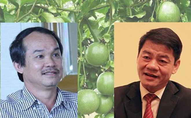 Chuyện ông Trần Bá Dương (phải) ra tay nghĩa hiệp cứu bầu Đức được nhiều doanh nhân nhắc tới thời gian qua. Ảnh: TL