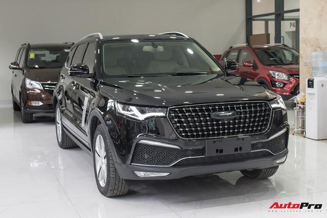 Xe Trung Quốc vậy mượn nhiều thiết kế của các hãng xe lớn trên thế giới. Ảnh: Tới Nguyễn.