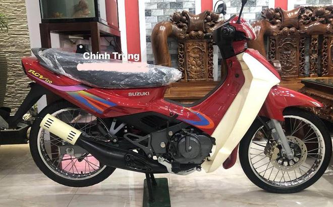 Chiếc Suzuki RGV 120 - Tượng đài xe máy 2 kỳ tại Việt Nam. Ảnh: Chính Trung