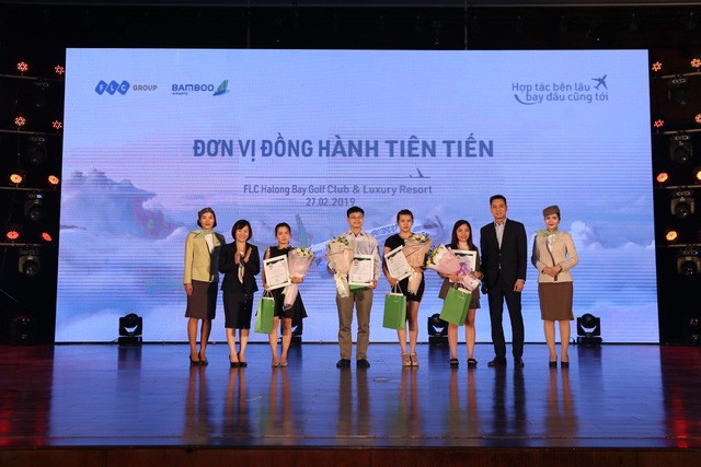 Bamboo Airways vinh danh các đại lý xuất sắc